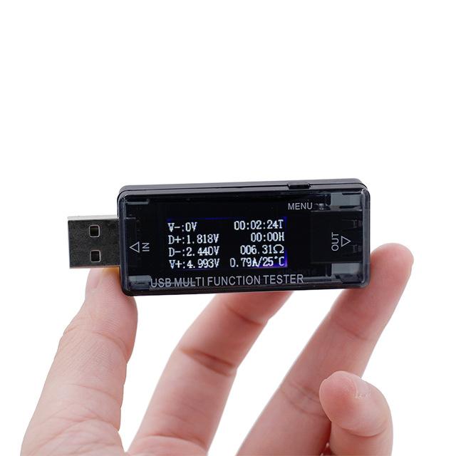 Current Voltage Tester USB Ports Digital Display USB Multifunction Tester MT
