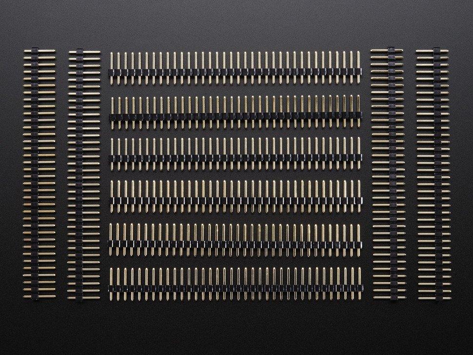 Dip breakaway ic pin strip