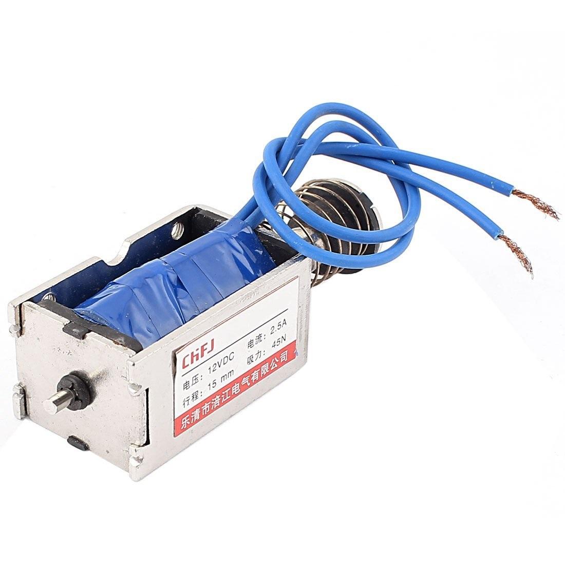 Kp Larger Push Pull Solenoid 12v 3a 15mm Pps123 Fr 239 Kr Hos Phillips Wiring Diagram